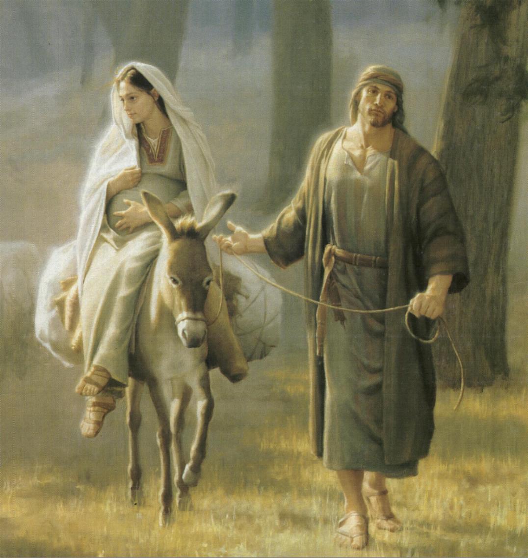 Mary On Donkey